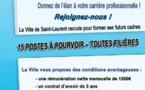 Rejoignez-nous ! La Ville de Saint-Laurent recrute pour former ses futurs cadres !