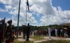Retour sur la cérémonie de lever du drapeau tricolore à Balaté