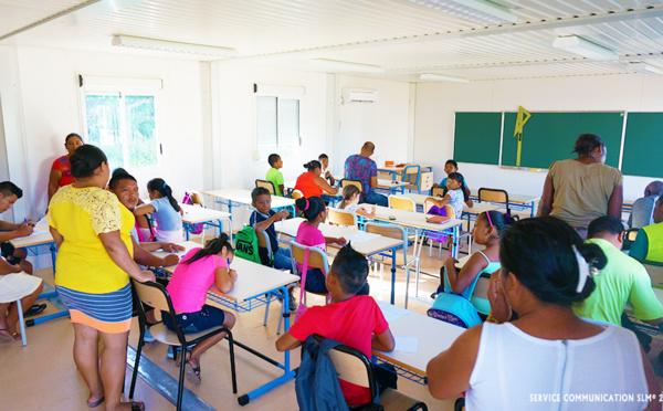 Rentrée à la nouvelle école de Prospérité