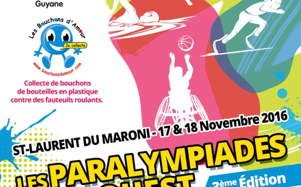 Les 17 et 18 novembre venez assister aux Paralympiades de l'Ouest