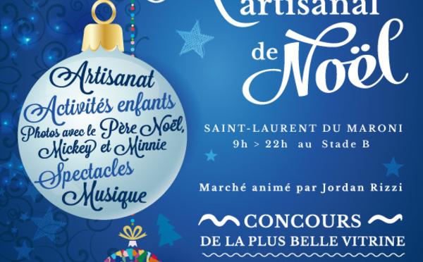 Venez découvrir le marché artisanal de Noel les 02 et 03 décembre !