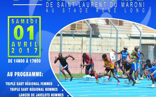 Samedi 01 avril : meeting international d'athlétisme de Saint-Laurent