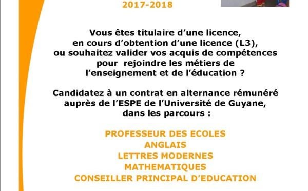 Le rectorat recrute