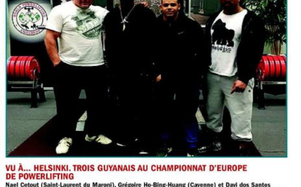 Un Saint-Laurentais aux championnnats d'Europe de powerlifting
