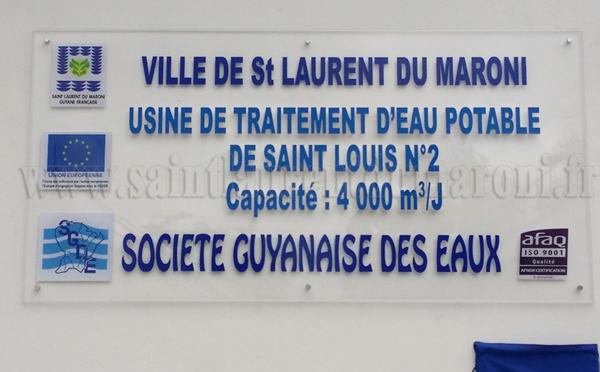 Inauguration de la nouvelle usine d'eau potable de la ville