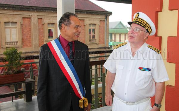 visite officielle de Monsieur Martin JAEGER nouveaux Préfet de Guyane