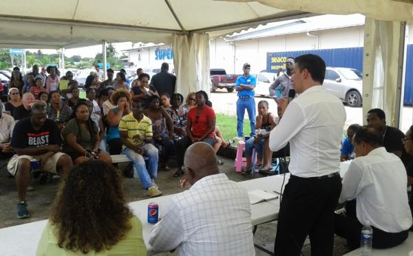Blackout électrique : Léon Bertrand répond présent à l'appel de la population saint-laurentaise :  EDF s'engage à mettre en place des solutions pour Saint-Laurent et l'Ouest guyanais
