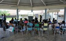 NPNRU de Saint-Laurent : réunion publique à lécole Symphorien