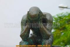 Statue du bagnard