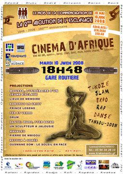 CINEMA D'AFRIQUE