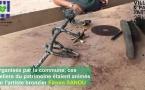 #Patrimoine : retour en vidéo sur les ateliers d'initiation à la sculpture en bronze avec Firmin SANOU au #campdelatransportation