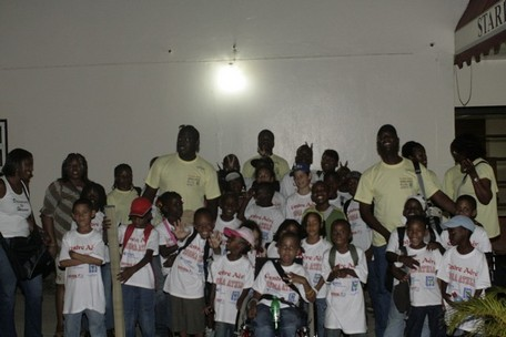 Trente et un enfants de la commune ont effectué  une sortie au Surinam du 25 au 28 Juillet 2008
