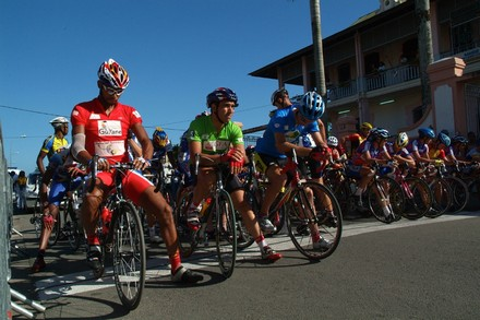 Saint-Laurent du Maroni, un petit tour (cycliste), et puis ils s'en vont
