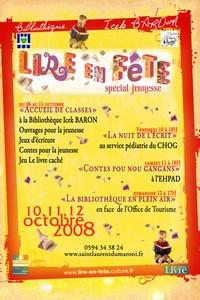 Lire en fête : les 10, 11 et 12 octobre 2008