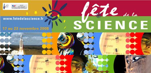 17ème édition de la fête de la science du 17 au 23 novembre