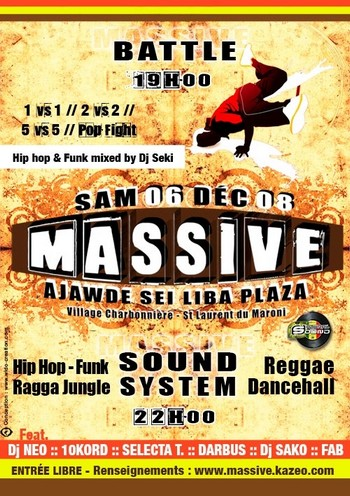 Massive Battle and Sound system