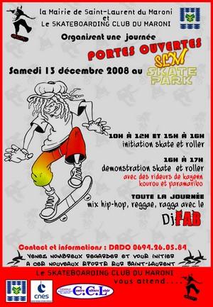 L'association Skateboard Club du Maroni vous ouvre ses portes