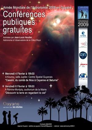 L'Année Mondiale de l'Astronomie en Guyane avec le CNES/CSG