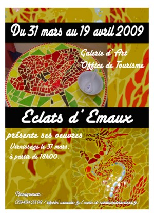 Expo : Eclats d'Emaux
