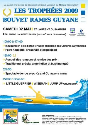 Les Trophées de Bouvet Rames Guyane 2009