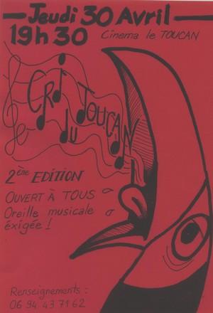 Le cri du Toucan …2ème édition