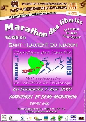L'A.S.L Maroni organise la 7ème édition du marathon de Saint Laurent du Maroni – « Le Marathon des Libertés »