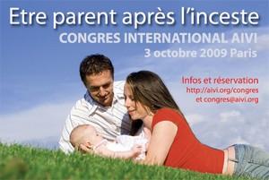 Etre parent après l'inceste : première en France