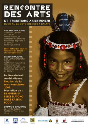 Rencontre des arts et traditions amérindiens au village Balaté