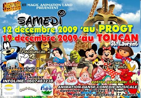 Spectacle Disney au Cinéma Le Toucan