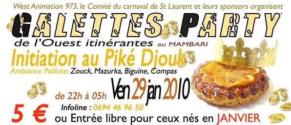 Galettes party Itinérantes de l'Ouest