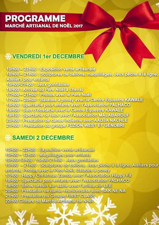 Les 01 et 02 décembre ne ratez pas le marché artisanal de Noël !