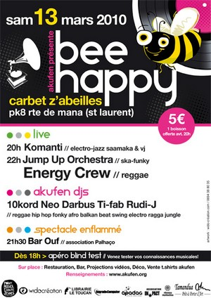 Bee happy avec Akufen