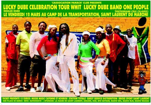 Concert hommage à Lucky Bube
