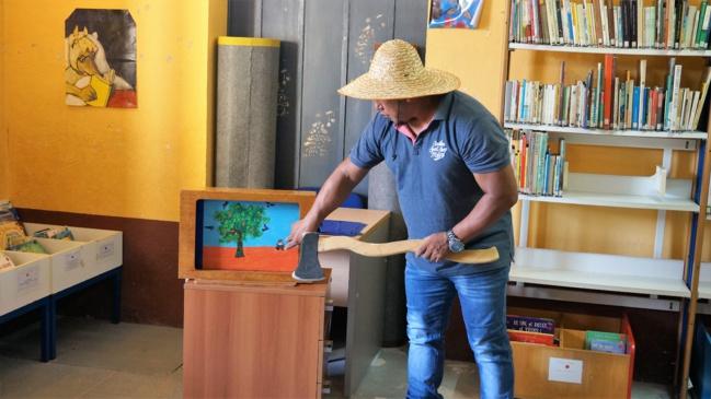 La bibliothèque accueille les écoliers de Saint-Laurent