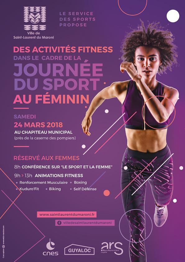 A vos agendas ! Le 24 mars : journée du sport au féminin :)