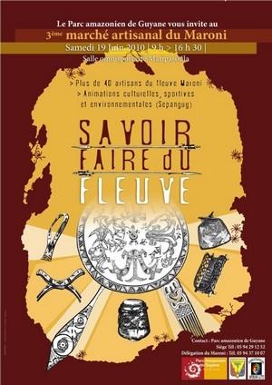 « Savoir-Faire du Fleuve » 3ème édition du marché artisanal du Maroni