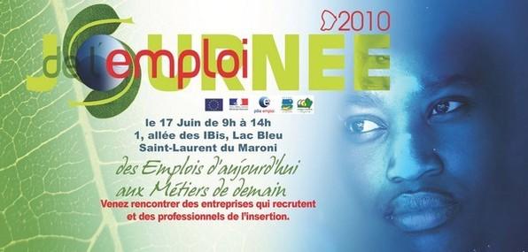 La journée de l'emploi à Saint-Laurent du Maroni