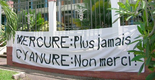 Le cyanure bientôt banni de Guyane