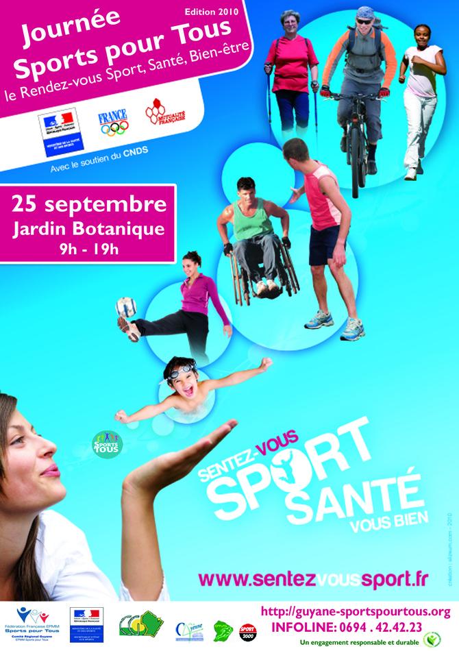 Journée du sport pour tous : 2ème édition
