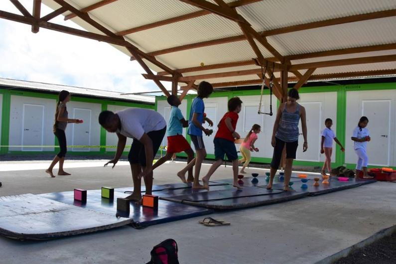 Bougez avec Saint-Laurent : stages de cirque