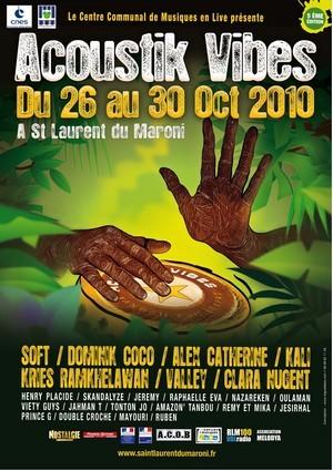 5ème édition du Festival Acoustik Vibes - 26 au 30 octobre