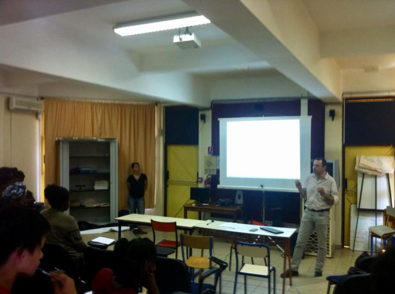 [Patrimoine] : intervention de JL Sanchez auprès des lycéens sur le thème du bagne de Guyane