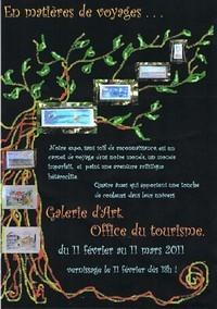 Exposition des oeuvres de Delphine VAURY dans la Galerie d'Art de l'Office du Tourisme du Vendredi 11 février 2011 au Vendredi 11 mars 2011.