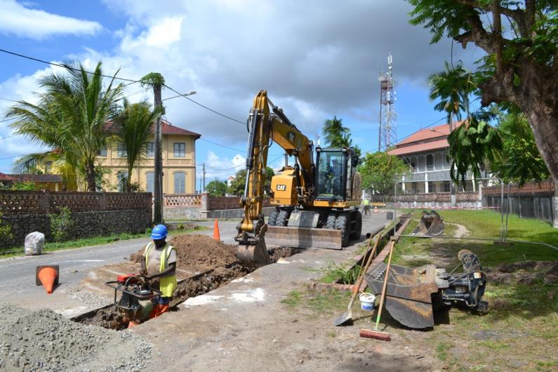 [Eau & Assainissement] : la Ville investit dans des travaux sur les canalisations d'eau potable du boulevard Général de Gaulle