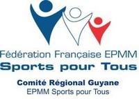 1er Stage de Flag Football organisé par le Comité Régional EPMM Sports pour Tous de Guyane.