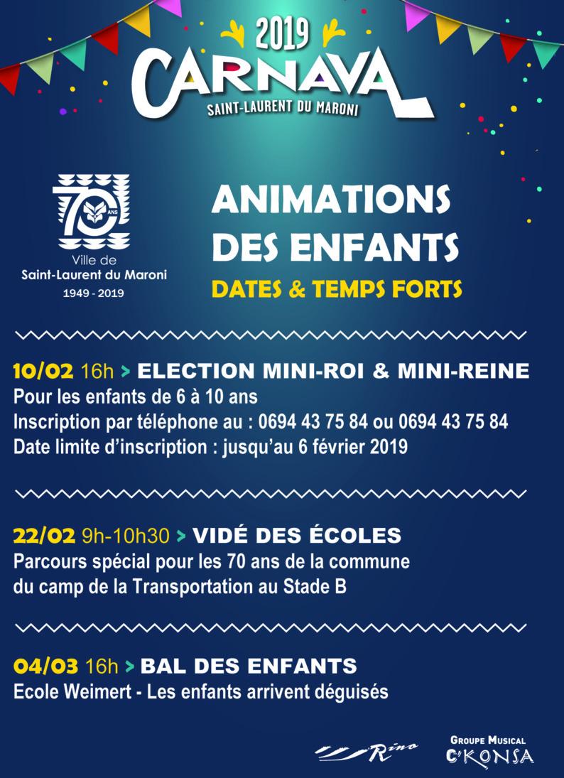 [Carnaval] : retrouvez le programme du Carnaval 2019 !