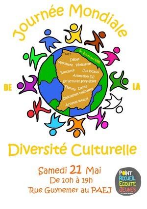 Journée Mondiale de la Diversité Culturelle organisée par le Centre Communal d'Action Sociale