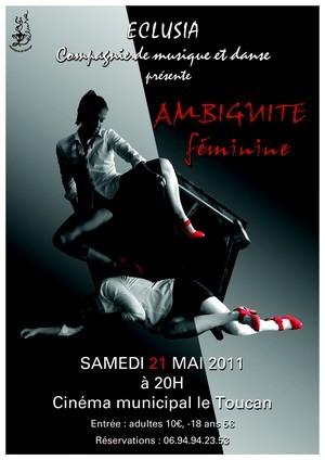 """""""Ambiguïté féminine"""", spectacle proposé par la Compagine Eclusia"""