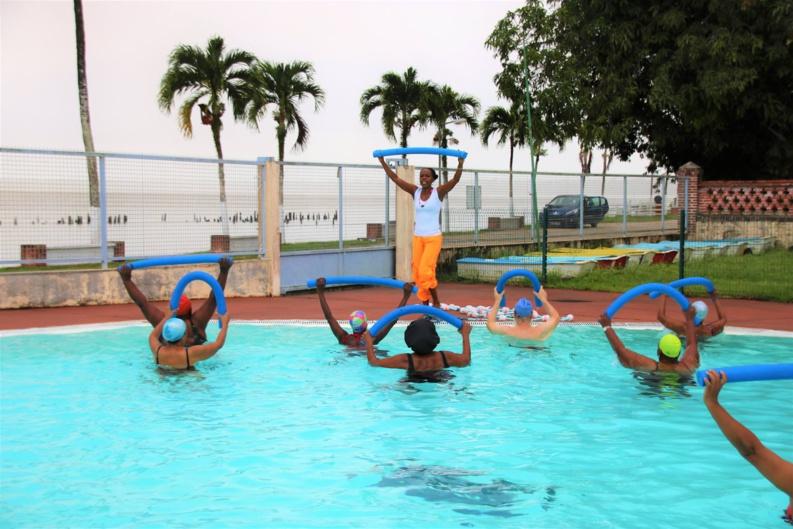 [SPORTS] : lancement de l'activité aquagym pour les séniors