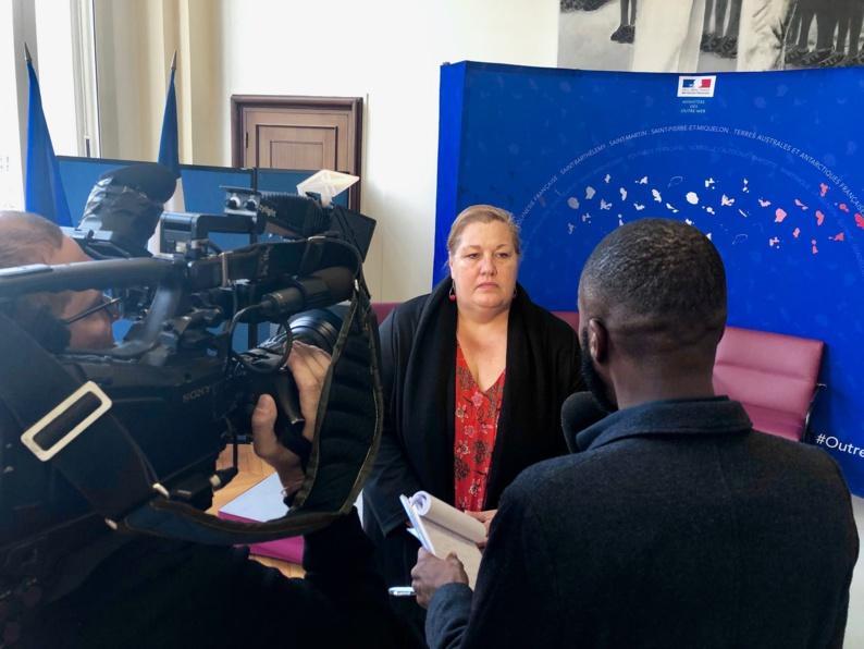 [Logement] : Madame le maire propose une solution innovante à Annick GIRARDIN, ministre des outre-mers, pour résorber l'habitat spontané